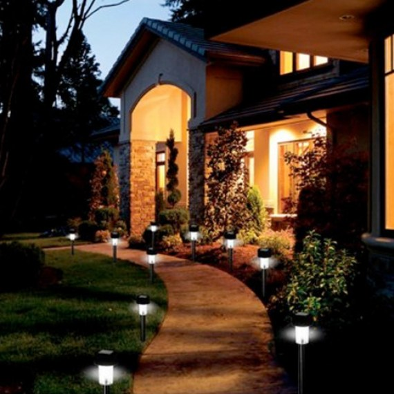Outdoor Lighting - Solar Path Lights - quinju.com