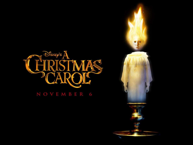 Christmas Carol Jim Carrey In A Trailer