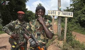 Côte d'Ivoire soldats