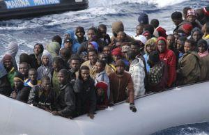 Bateau de refugiés