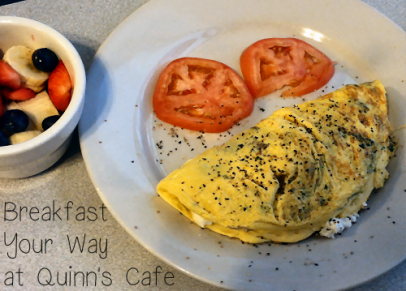 Breakfast Your Way at Quinns Cafe