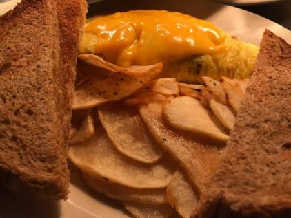 Homefries and Omelet