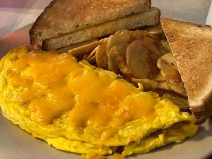 Canadian Bacon Omelette Delaware