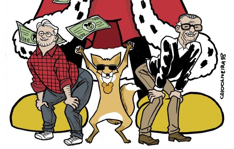 Disney finalmente compra Fox e todos ficam felizes