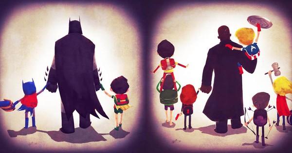 Especial dia dos Pais   Os piores pais super-heróis nos quadrinhos!