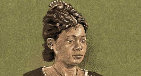 Retrato pintado da autora Maria Firnina dos Reis.