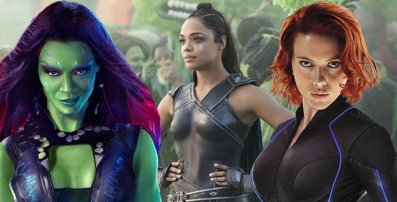 As Mulheres mais poderosas do Universo Marvel