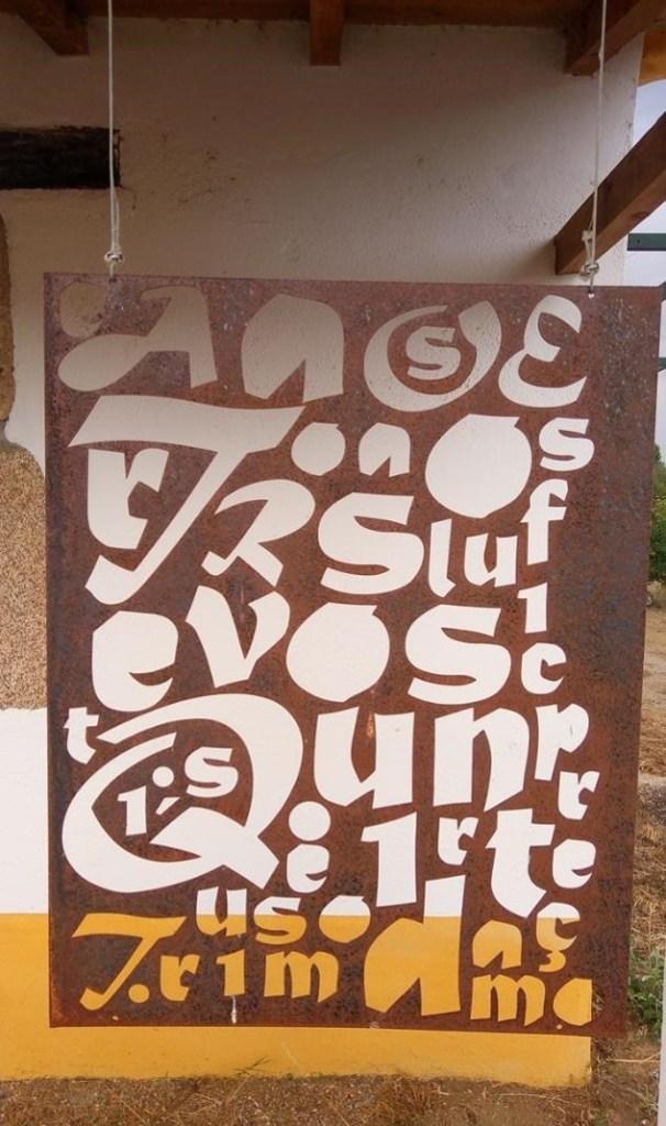 quinta dos trevos tursismo artesanato serralharia letras chapa
