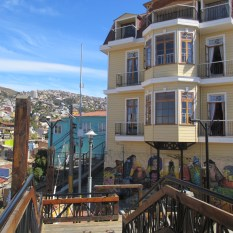 chile valparaiso historic house
