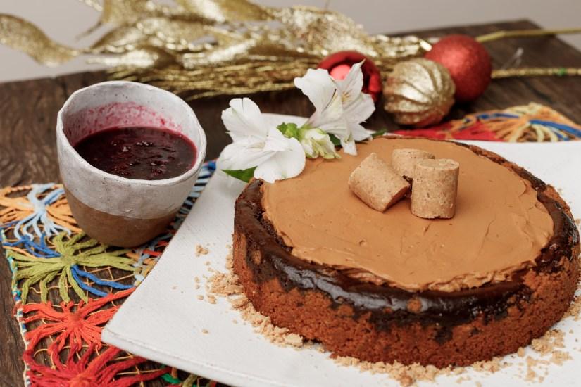 Cheesecake de doce de leite, encomendas Ceia de Natal Quintana 2020