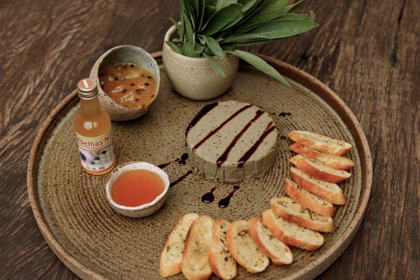 Patê de foie, encomenda Ceia de Natal Quintana Gastronomia