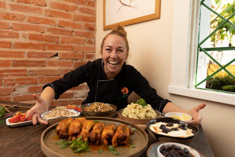 Gabriela Vilar de Carvalo é chef do Quintana Gastronomia