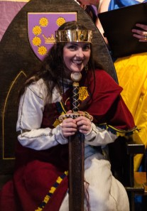 Queen Caoilfhionn and the sword of state