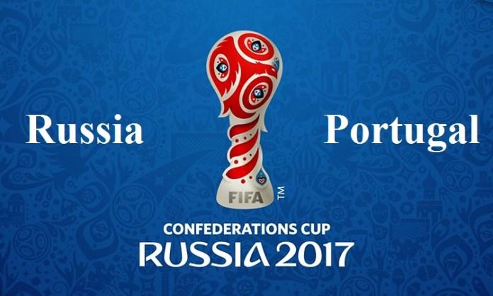 Russia v Portugal FiFa Confederation Cup 2017