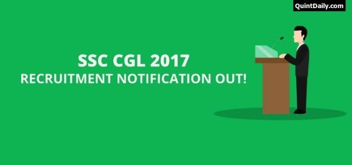 SSC CGL 2017