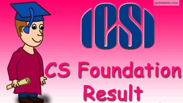 CS Foundation Result 2017