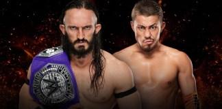 Neville vs Akira : WWE Great Balls of Fire 2017 Results