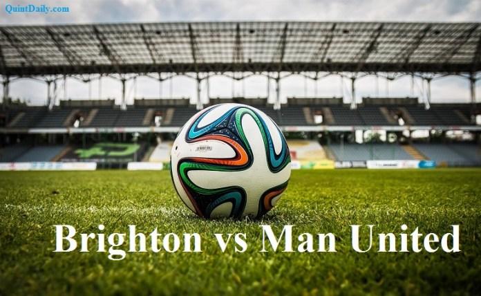 Brighton vs Man United Premier League Results