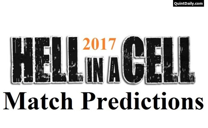 Hell in a Cell 2017 Predictions