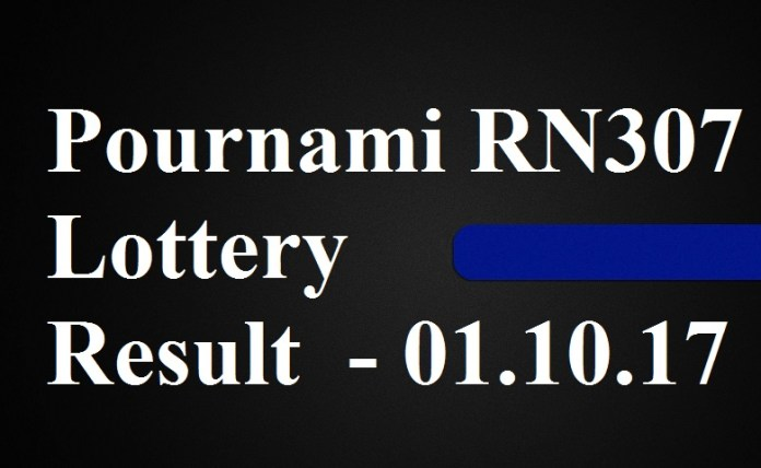 Pournami RN307 Lottery Result