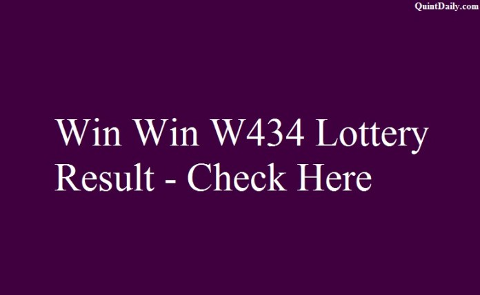 Win Win W434 Lottery Result