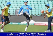 India vs NZ 2nd T20 Match Prediction
