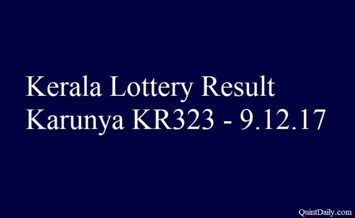 Karunya KR323
