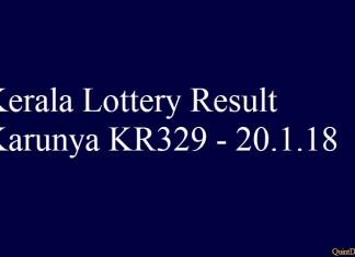 Karunya KR329