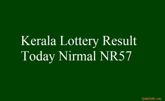 Nirmal NR57 #nirmalnr57 #nirmallotterynr57 quintdaily.com
