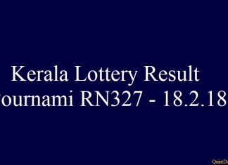 Pournami RN327 #pournamirn327 #keralaloteryresult quintdaily.com