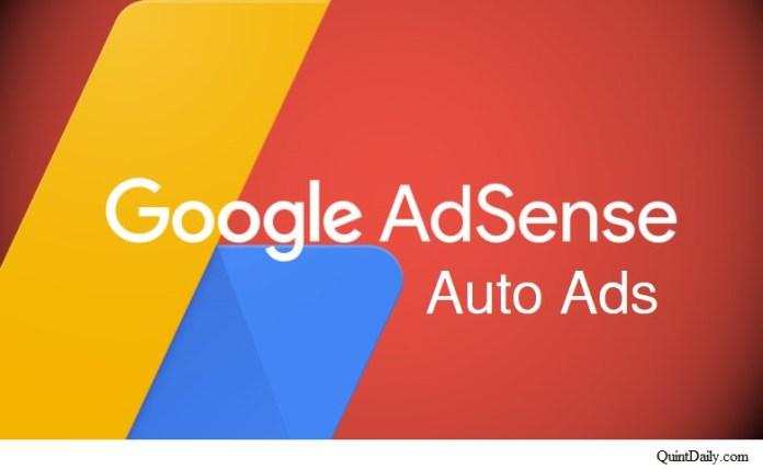 Google Adsense Auto Ads #googleadsense #GoogleAdsenseAutoAds quintdaily.com