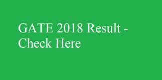 GATE 2018 Result #gate2018result #gateresult quintdaily.com