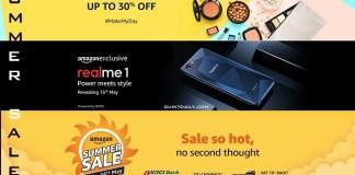 Amazon Summer Sale Offers 2018