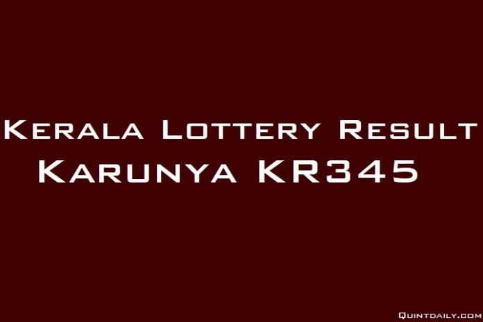 Karunya KR345