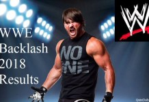 WWE Backlash 2018 Results