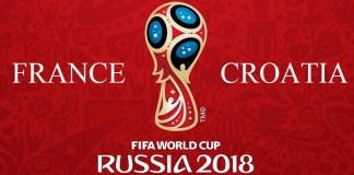 CRO vs FRA FIFA 2018 Final