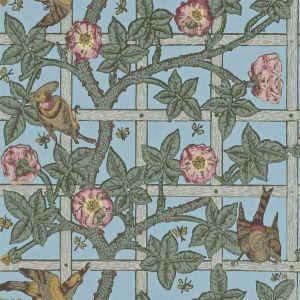 Trellis var ett av de första mönstren William Morris skapade.