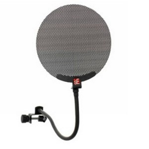 sE Electronics studio mic pop screen