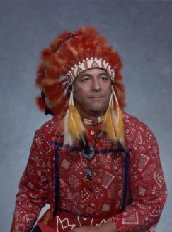 Quinton in Native Gear 1989