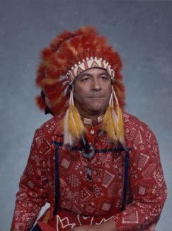 Quinton in Native Gear 1989