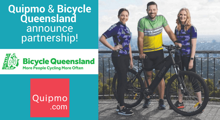 Quipmo and Bicycle Queensland announce partnership!