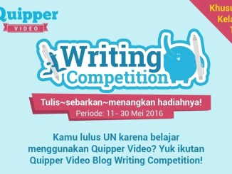 Quipper Video Blog Writing Competition