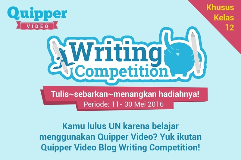 Quipper Video Blog Writi