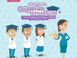 Infografis Quipperian Pejuang UN