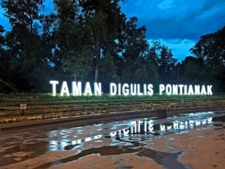 Taman Digulis Universitas Tanjungpura, Surganya Para Biker dan Skateboarder!