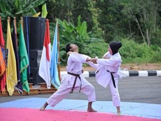 Tangguh dan Berprestasi Bersama UKM Seni Bela Diri Karate Universitas Bangka Belitung
