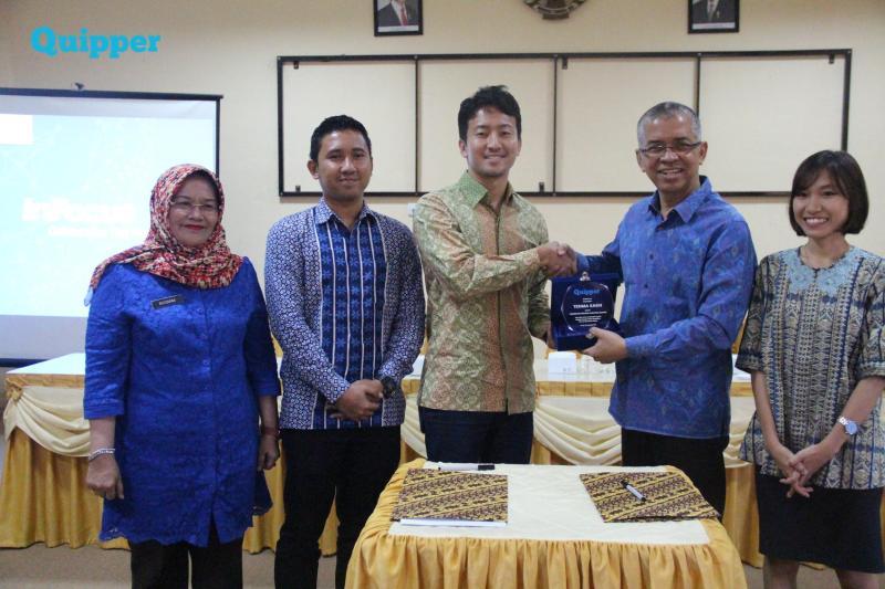 [Siaran Pers] Dinas Pendidikan Provinsi Sumatera Selatan Menerapkan Sistem Belajar Online Dengan Quipper