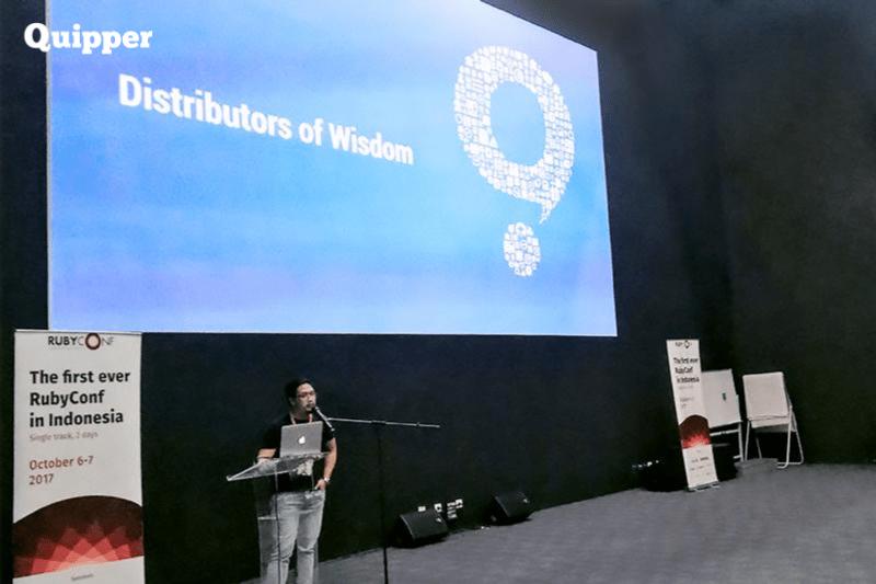 Mengembangkan Bakat Programmer Melalui Ruby Conference Pertama di Indonesia