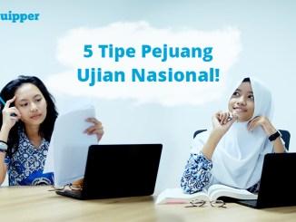 5 Tipe Pejuang Ujian Nasional (UN)