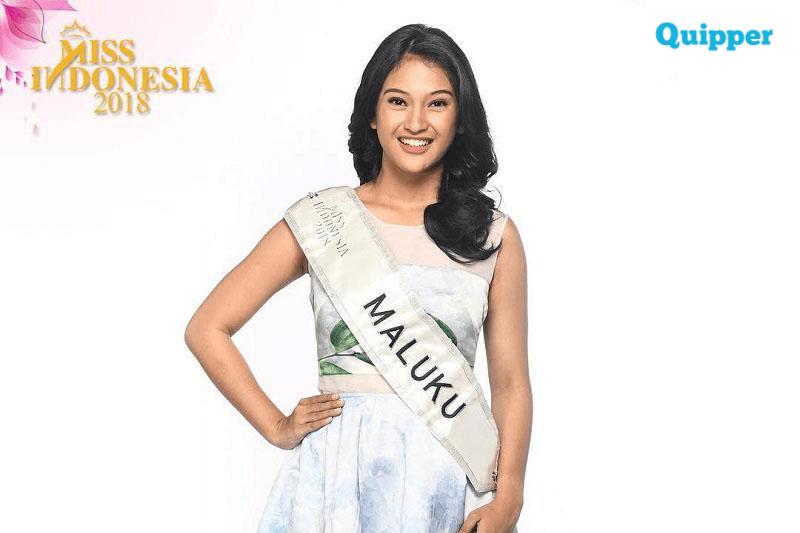 Mahasiswi Kampus Y.A.I, Alexsandra Del Viera Leiwakabessy Finalis Miss Indonesia 2018